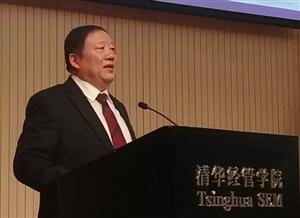 董事长俞学锋在清华大学分享安琪经验