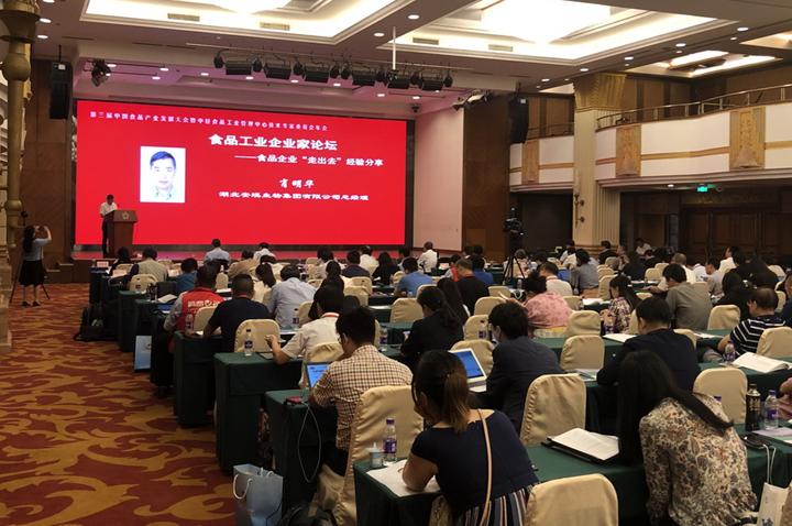 安琪受邀参加中国食品产业发展大会并发言